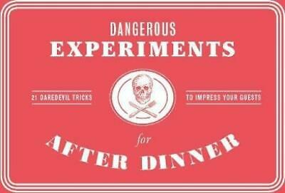 Laurence Kng Boardgame Dangerous Experiments for After Dinner Box MINT
