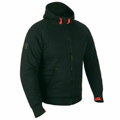 Genuine Nitro Aramid Armoured Black Summer Motorcycle Hoodie