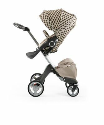 Stokke Stroller Seat Style Kit Fabric Pack Beige Cube Baby Infant Accessories