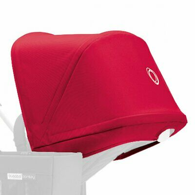 Bugaboo Donkey Sun Canopy Coral Red Pushchair Pram Accessory Baby Protection