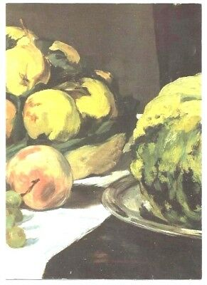 """2000 - """" MANET, natures mortes """"- exposition MUSÉE ORSAY- Carton invitation neuf"""