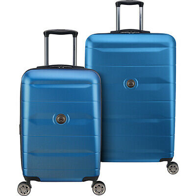 Delsey Comete 2.0 2 Piece Expandable Hardside Spinner Luggage Set NEW