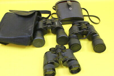 Job Lot 3 Pair Binoculars Sold as Donated to us Need Cleaning  ## WBR 17JWG