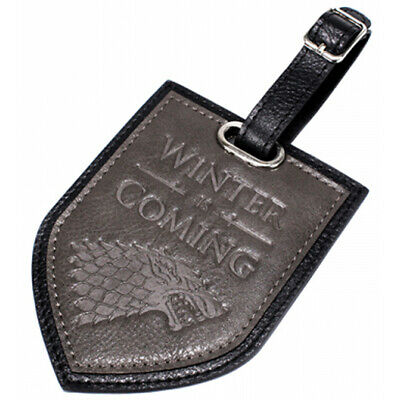 Game of Thrones Winter Is Coming House Stark Luggage Tag - LTGT02