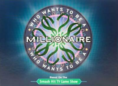 Pressman Boardgame Who Wants to be a Millionaire Box VG