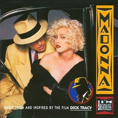 I'm Breathless Inspired By The Film Dick Tracy Madonna Cd 2007 Music Album Songs