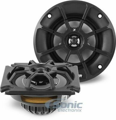 "Kicker 40PS42 4"" PS Series 2 Ohm Coaxial Power-Sports Speakers"