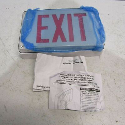 Lithonia Emergency Exit Sign