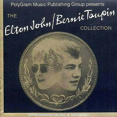 ELTON JOHN / BERNIE TAUPIN Collection - Rare 2 CD Set PROMO Only PolyGram 32 Trx