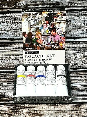 M. Graham Gouache (5 Color Set) Made with Honey for Richer Color NEW!