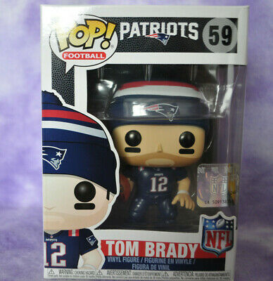 Funko POP NEW ENGLAND PATRIOTS  TOM BRADY #59 SUPER BOWL NFL BOX#1