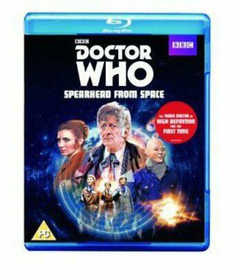 Doctor Who - Spearhead from Space (Special Edition) [Blu-ray], New, DVD, FREE &