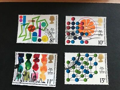 GB QE2 - The Centenary of  the Royal Institute 1977 - a used set