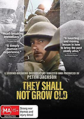 They Shall Not Grow Old - DVD Region 4 Free Shipping!