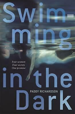 Swimming in the Dark by Paddy Richardson Paperback Book Free Shipping!