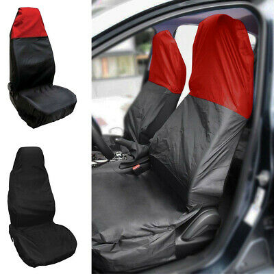 1PC Universal Heavy Duty Nylon Car Seat Covers Waterproof Protectors Van Front