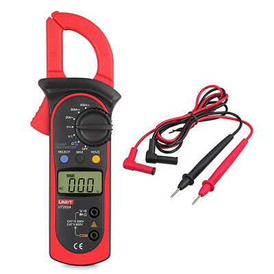 UT202A LCD Digital Multimeter Auto Handheld Clamp Meter Volt With AC DC600 AMPS