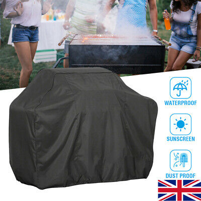 XS/S/M/L/XL/XXL BBQ Cover Heavy Duty Waterproof Barbeque Patio Grill Protector
