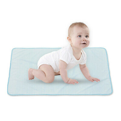 Practical Baby Changing Cotton Changing Pad Liner Cover Toddlers Diaper Mats BS