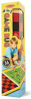 4-in-1 Game Rug - Melissa & Doug Free Shipping!