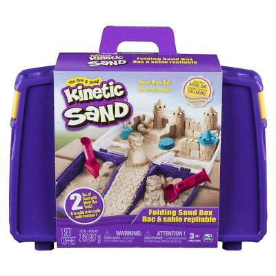 Kinetic Sand Folding Sand Box - Spin Master Games Free Shipping!