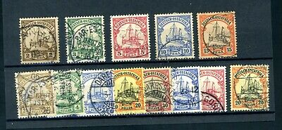 German East Africa  13 Stamps   fine-used  (J076)