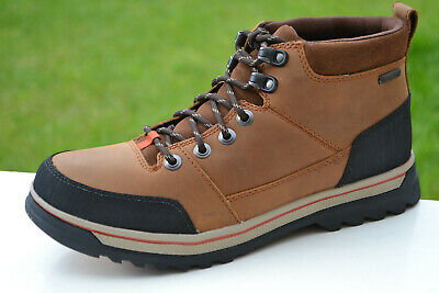 749b0cbc21dd7 Clarks BNIB Mens Boot RIPWAY TOP GTX Tobacco Warm / Lined Leather UK 7 / 41