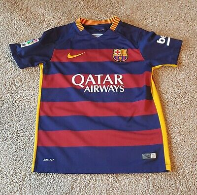 cc5c918c0 Nike Boy s Dri-Fit Lionel Messi  10 FC Barcelona Soccer Jersey Size YOUTH M