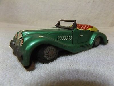 Vintage Stahlblech 50's MG Roadster--friction DRIVE--4 3/4 Long--very Nice