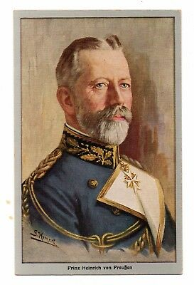 PRINCE HENRY OF PRUSSIA IN MILITARY UNIFORM, ARTIST IMAGE, c. 1904-14