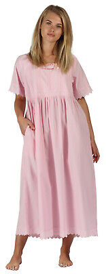 The 1 for U 100% Cotton Nightdress Helena Pink (seconds) New with Tags