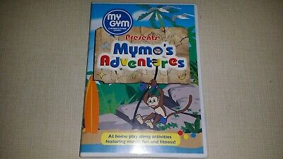 My Gym Childrens Fitness Center Mymo's Adventures Dvd Music Fun Exercise Workout