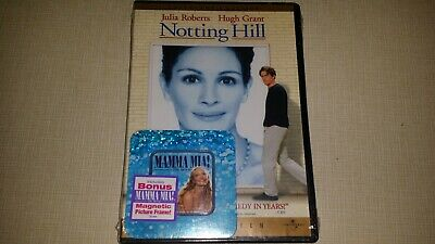 Notting Hill Dvd Collectors Mothers Day Mamma Mia Promotion Includes Pic Frame