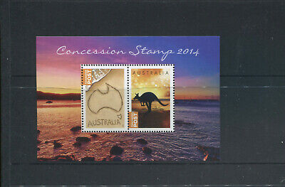 (stamp 111) Australia Mini Sheet (mint) for Concession Stamps 2014