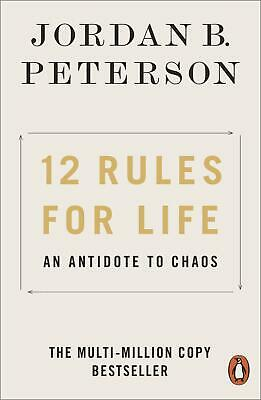 12 Rules for Life ~ Jordan B. Peterson ~  9780141988511