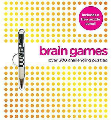 (Very Good)-Ultimate - Brain Games (Ultimate Diecut Puzzles) (Paperback)--144546