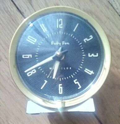 LOVELY WESTCLOX BABY BEN COLLECTABLE ALARM CLOCK - Untested - For Display/Parts