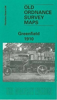 Old Ordnance Survey Map Greenfield 1910
