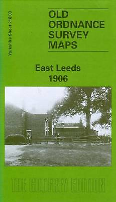 Old Ordnance Survey Map East Leeds 1906