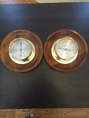 Vintage Dual Springfield Thermometer and Hydrometer (Gauges Operational)