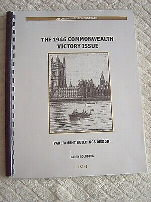 THE 1946 COMMONWEALTH VICTORY ISSUE - PARLIAMENT BUILDINGS DESIGN by L. GOLDBERG