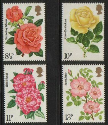 1976  Rose Society (30 June) Unmounted Mint