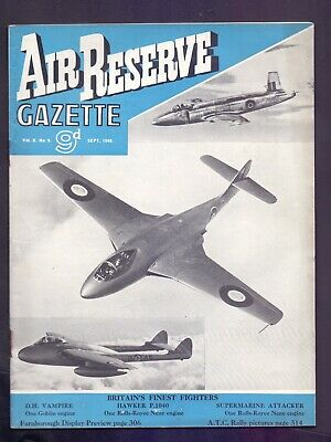 Vintage Air Reserve Gazette Vol X No 9  Sept 1948  (YT1)