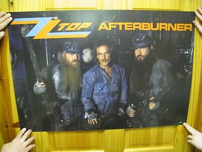 ZZ Top Poster ZZtop After Burner Band Shot