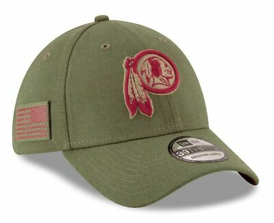 9b1de22911c529 New Era Men's Washington Redskins Salute to Service 39Thirty Fitted Hat Pix  Size