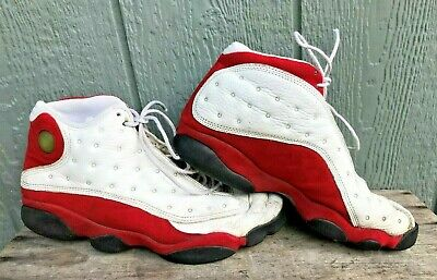 ramasser b4a8a ae614 1997 NIKE AIR Jordan XIII OG Cherry Red White Black BB Shoes 136002-101 Sz  10.5