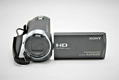 Sony HDR-CX405 1080Full HD 60xClear Image Zoom 26.8mm Wide Angle Lens, Black