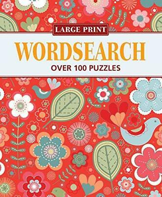 Large Print Elegant Wordsearch 1, Publishing, Arcturus, Good Condition Book, ISB