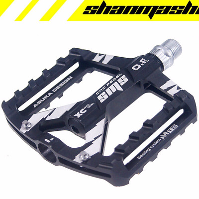 1 Pair Mountain BMX Bike Pedals Alloy Ultra-thin MTB For Outdoor Sports