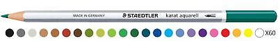 Staedtler Karat Aquarell Watercolour Pencil - Sea Green (Pack of 6)